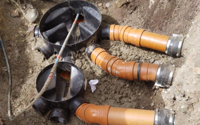 Drain Repairs / Excavations at 1st Drain Clear in Chislehurst, Kent